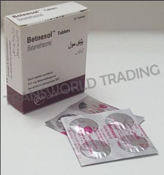 Betnesol Tab wholesaler Lahore Karachi Pakistan