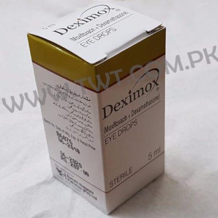 Dexamethasone + Moxifloxacin